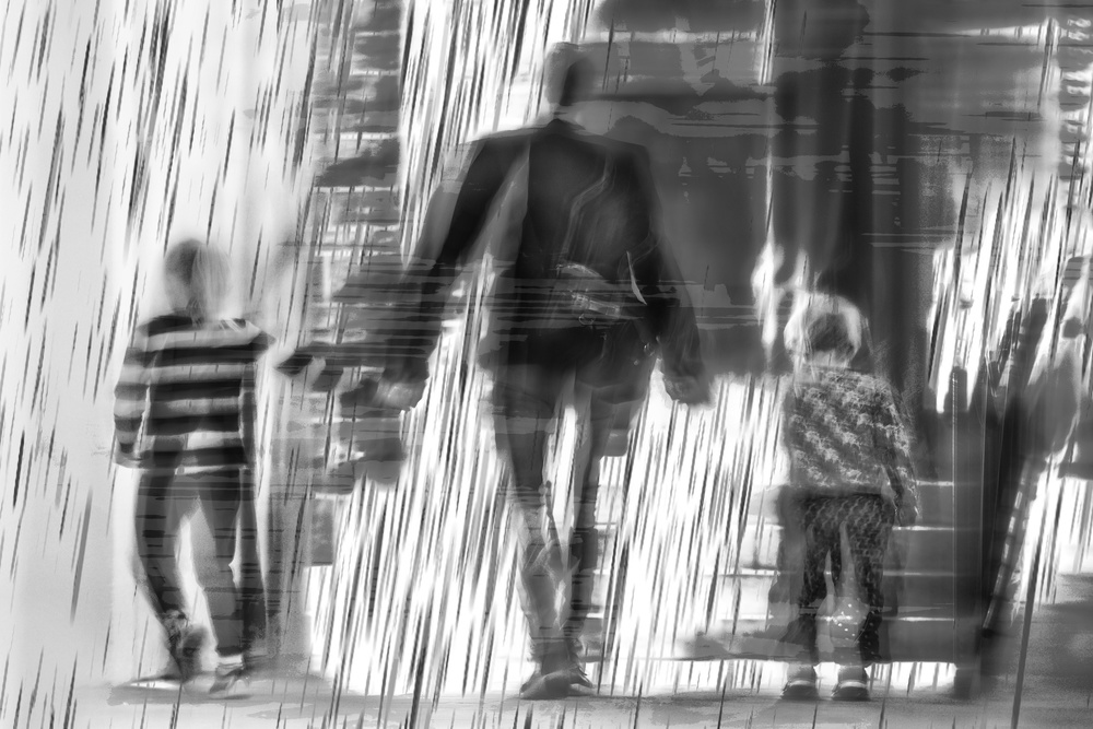 A piece of fine art art photography titled  They Grow Up So Fast by The Jar - Geir Jartveit