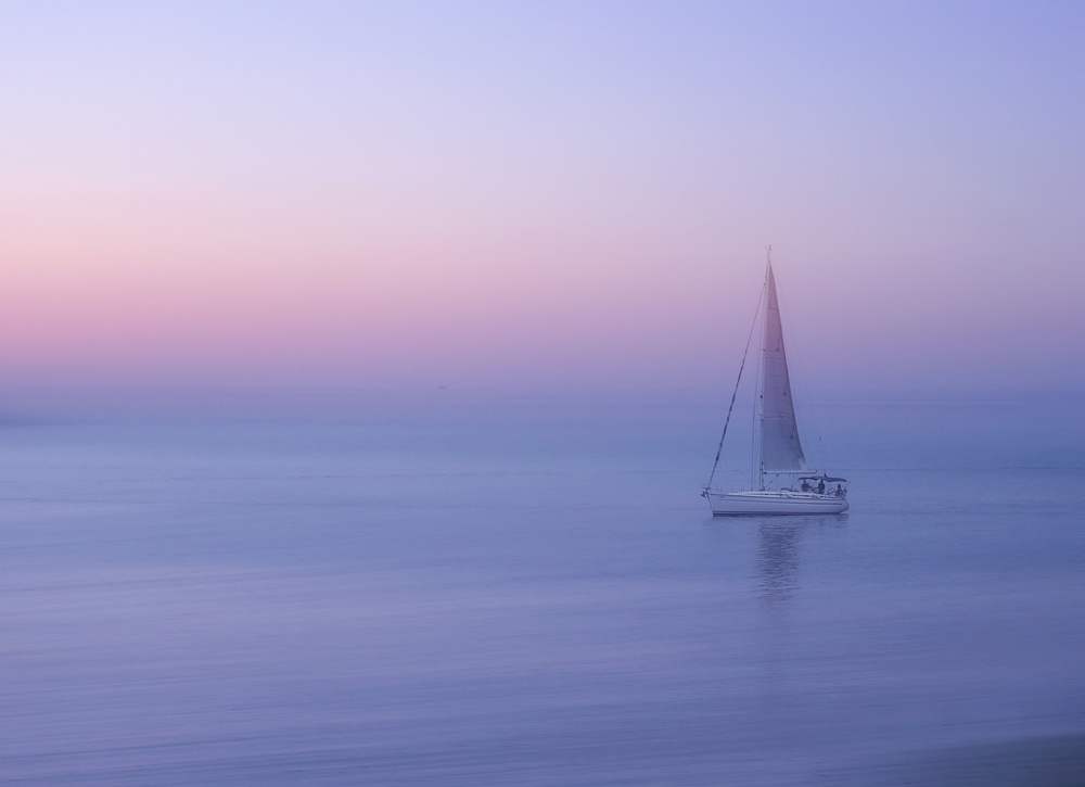 A piece of fine art art photography titled Sliema, Malta by Ellen van Deelen