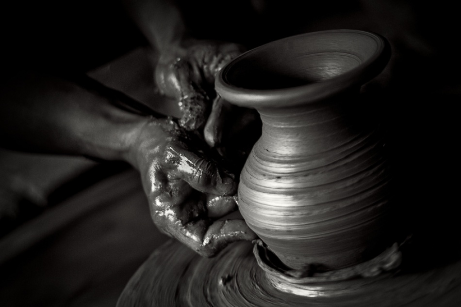 A piece of fine art art photography titled Jar #2 by Paolo Melendres