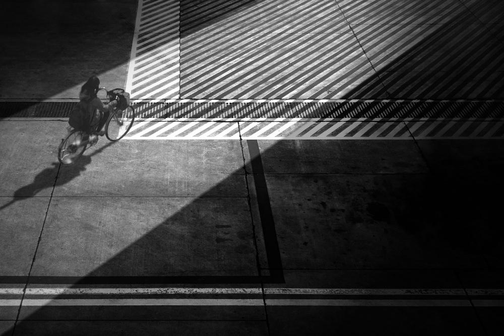 A piece of fine art art photography titled To the Shortcut by Ekkachai Khemkum