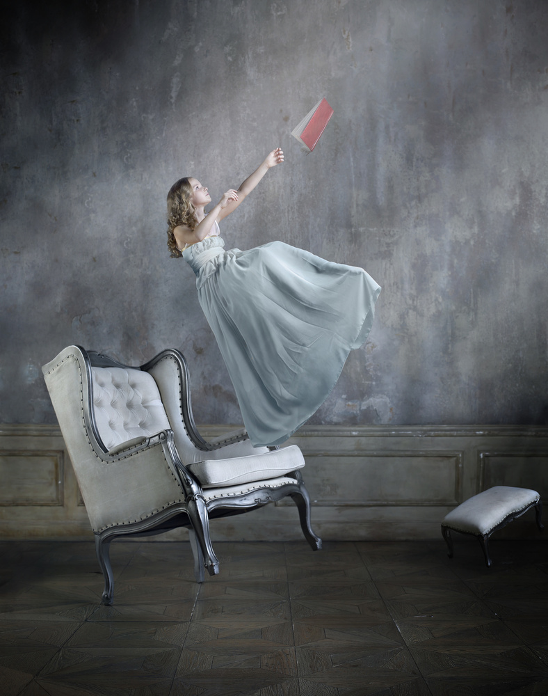 A piece of fine art art photography titled Alice In Wonderland by Victoria Ivanova