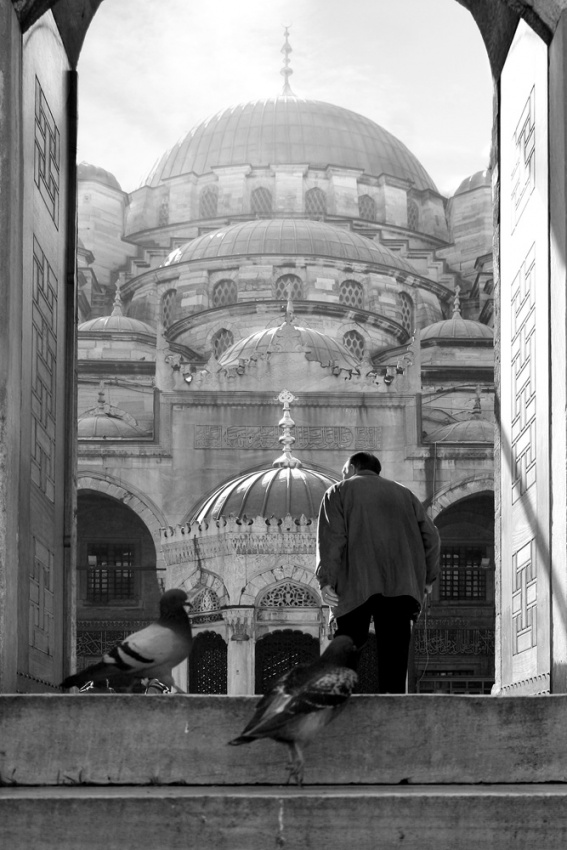 A piece of fine art art photography titled Istanbul by ahmet orhan