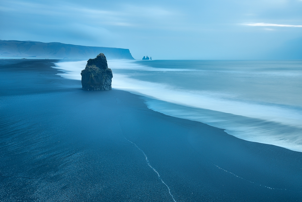 A piece of fine art art photography titled Near Vik by Massimo Baroni