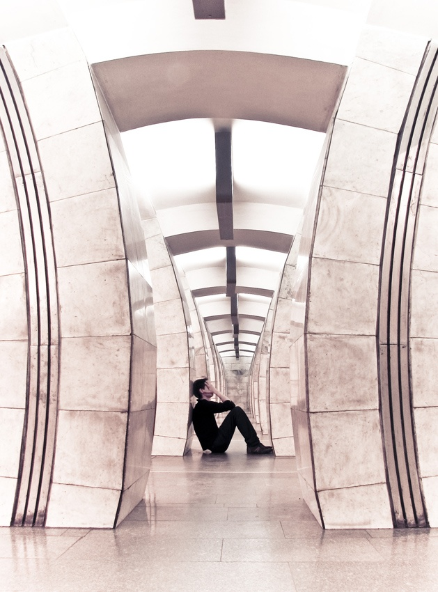 A piece of fine art art photography titled Unforgiven by Serhiy Schelkunov
