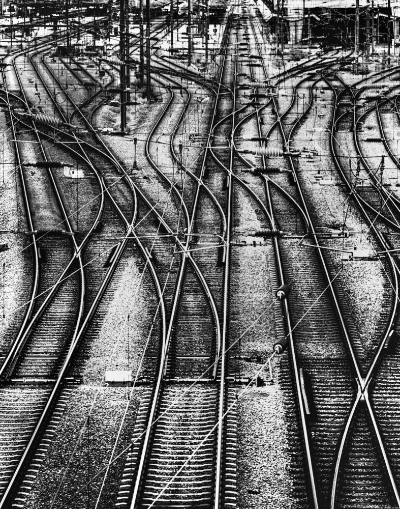 A piece of fine art art photography titled Take the a Train by Fernando Correia da Silva