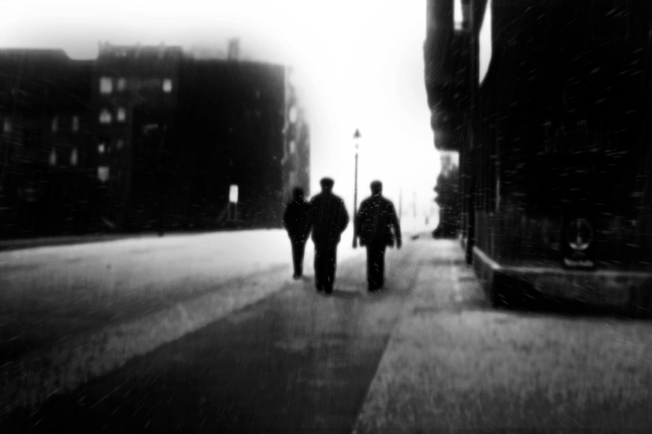 A piece of fine art art photography titled The Dark City by storytaylor