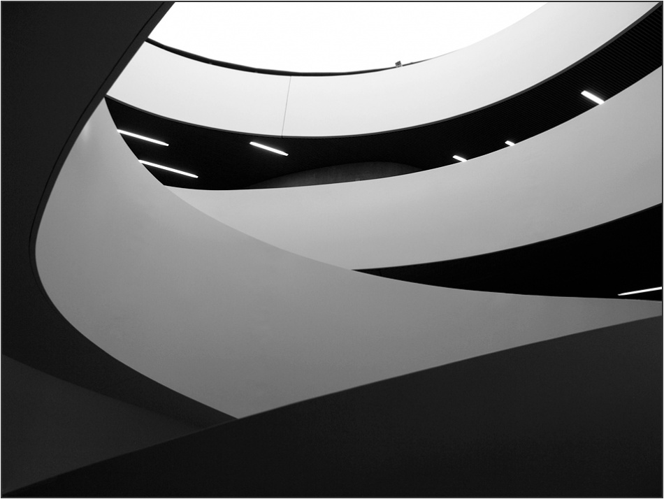 A piece of fine art art photography titled Lines04 by sensorfleck