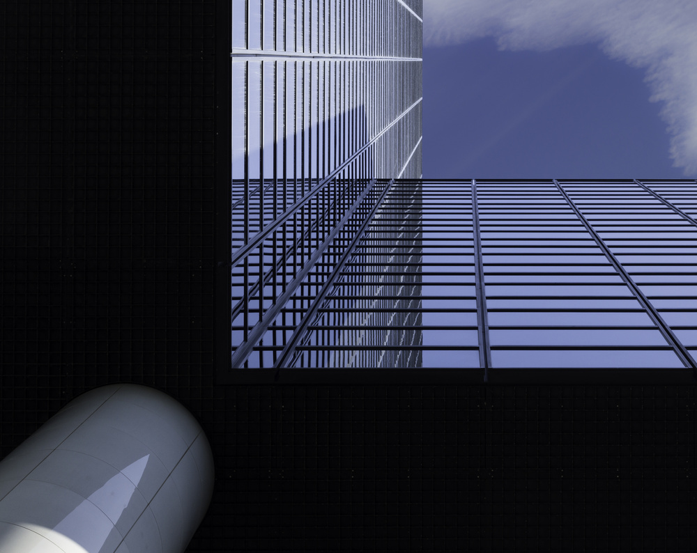 A piece of fine art art photography titled Angle View by Greetje van Son