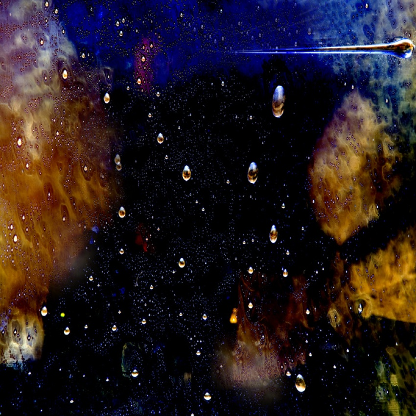 A piece of fine art art photography titled Space Bubbles by Willy Marthinussen