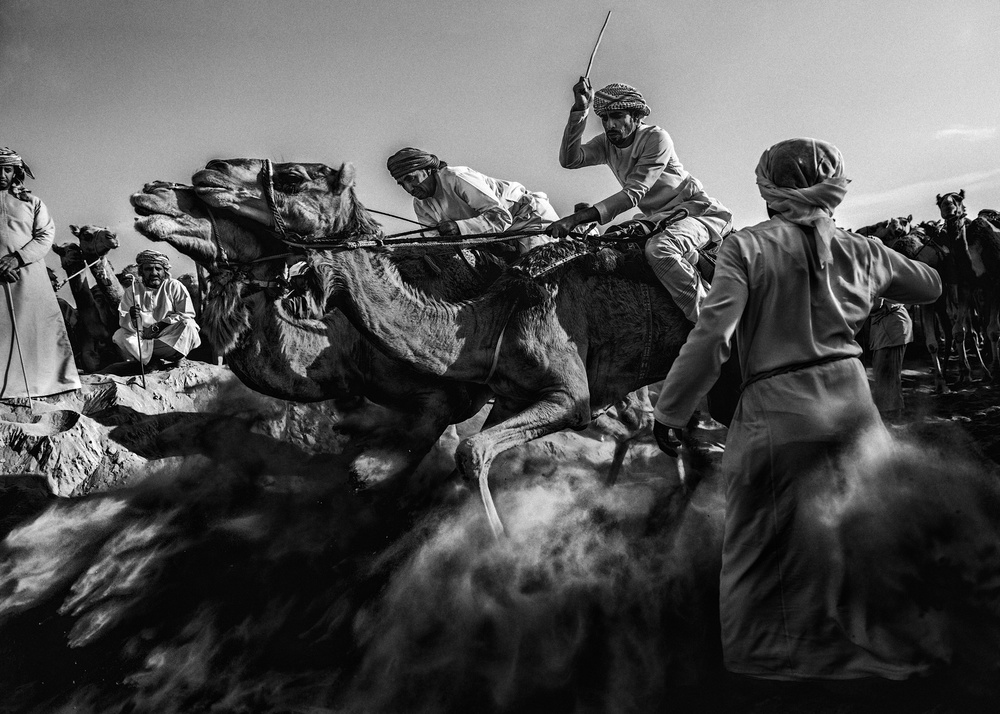 A piece of fine art art photography titled Strong Start by Nidhal Alsalmi