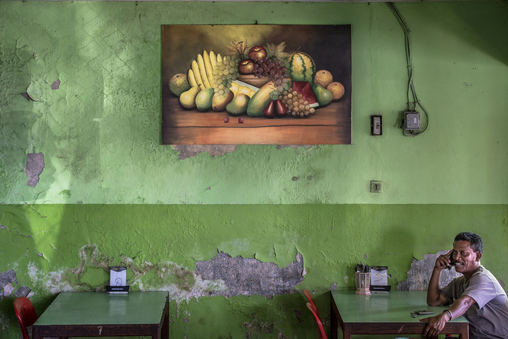 A piece of fine art art photography titled Sweet Window by Marco Tagliarino