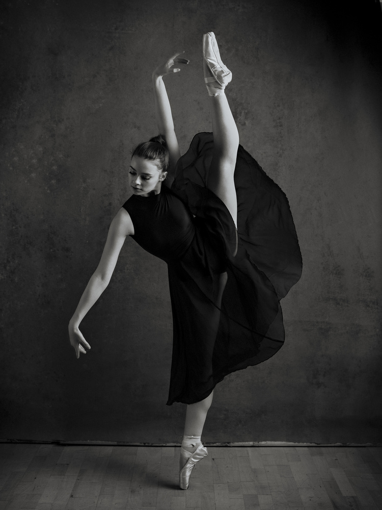 A piece of fine art art photography titled Dance by Howard Ashton-Jones