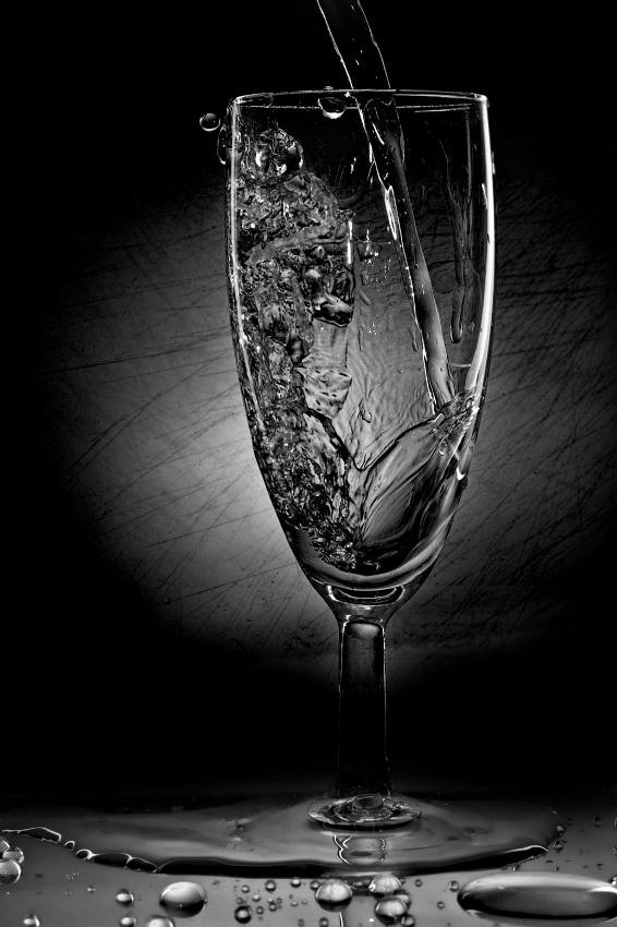 A piece of fine art art photography titled Fluid by gerQ