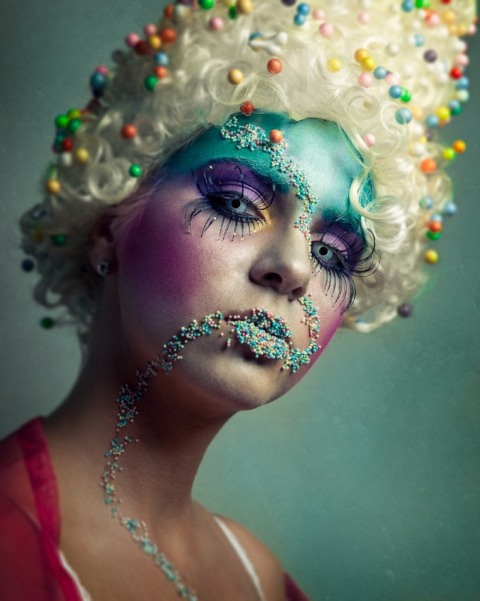 A piece of fine art art photography titled Candyland by Lauri Laukkanen