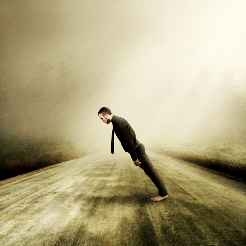 A piece of fine art art photography titled Tied Together by Martin Stranka