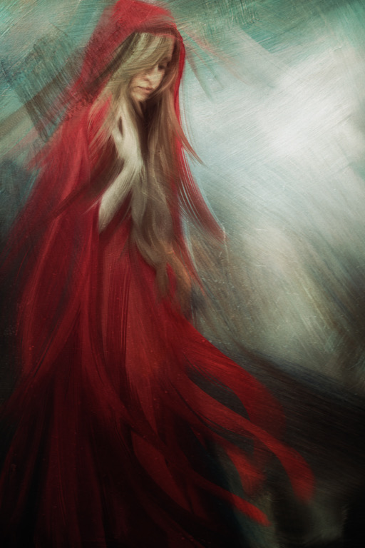A piece of fine art art photography titled If I Was the Red and You Were the Blue by Charlaine Gerber