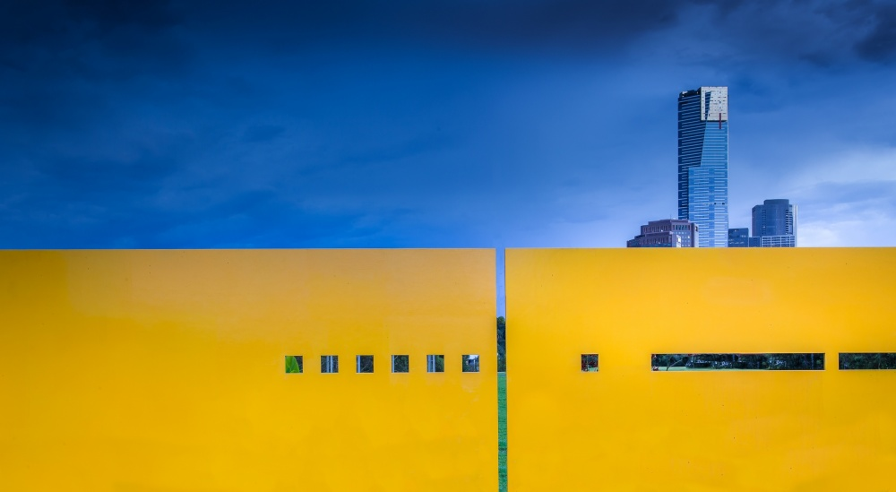 A piece of fine art art photography titled Edge by Gregory Evans