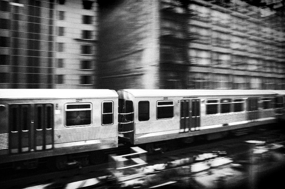 A piece of fine art art photography titled Commuter by ESPhotography