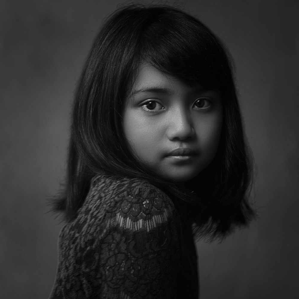 A piece of fine art art photography titled Victoria by Dony Chrismanto