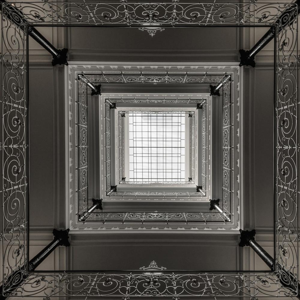 A piece of fine art art photography titled X by Harry Lieber