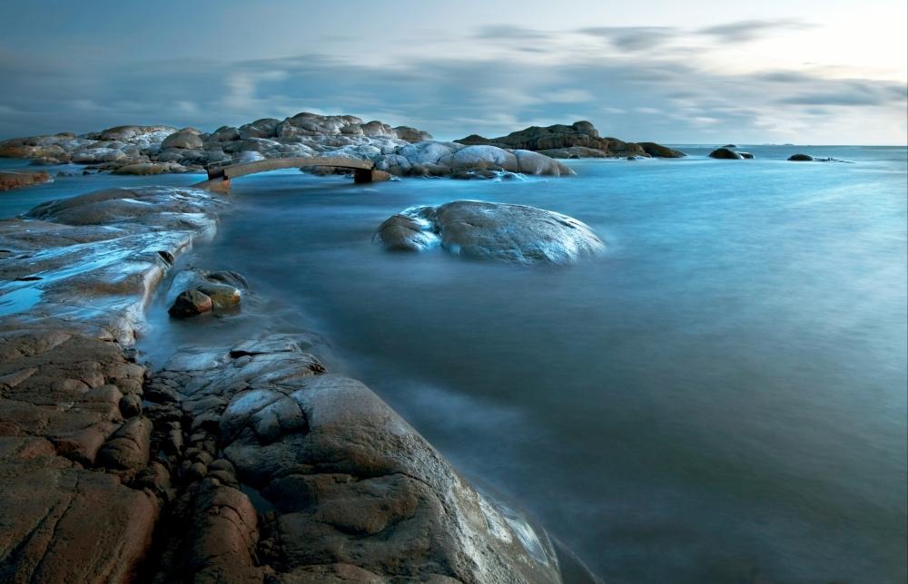 A piece of fine art art photography titled Winterlight by Audun Wigen