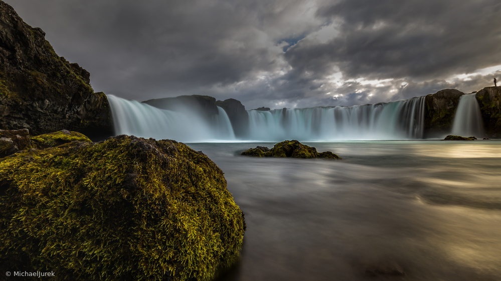 Iceland - At the godafoss