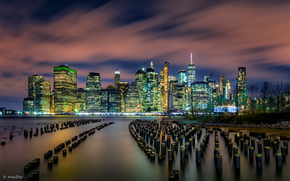 View this piece of fine art photography titled Old Pier 1 by Hua Zhu