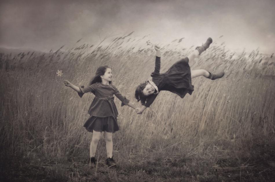 A piece of fine art art photography titled Windy Fairy Tales by Svetlana Bekyarova