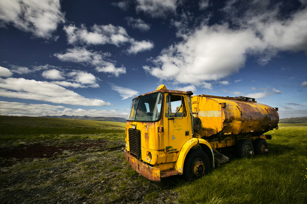 A piece of fine art art photography titled Tanker by Bragi Ingibergsson - BRIN