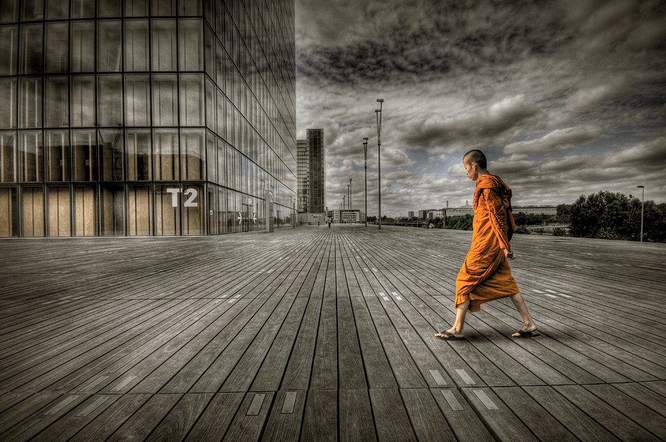 Monk in Paris