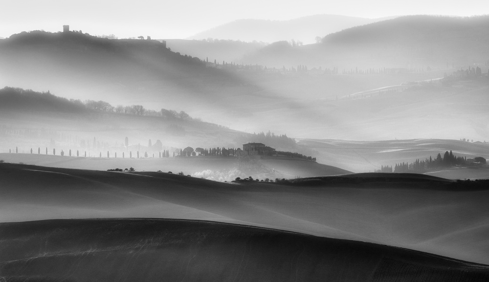 A piece of fine art art photography titled Further and Further by Marek Boguszak