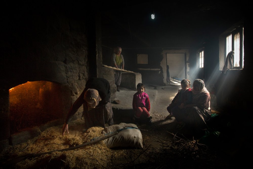 View this piece of fine art photography titled Bread making by aygul ozturk