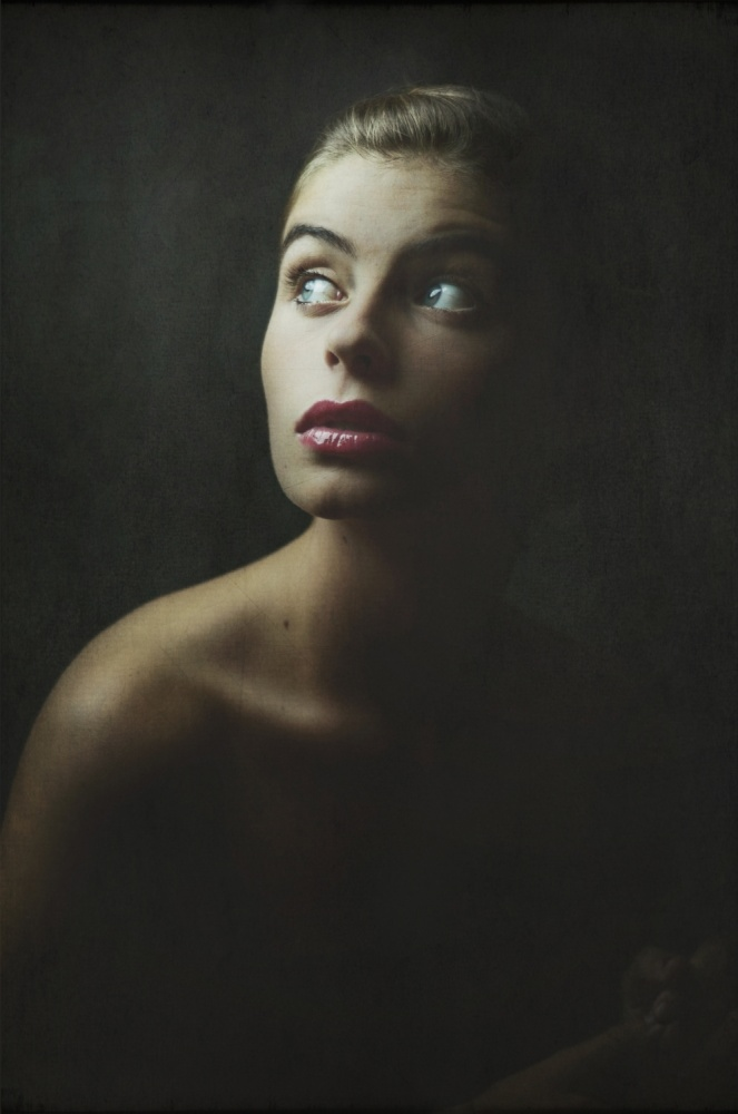 A piece of fine art art photography titled Femininity by Marta Everest