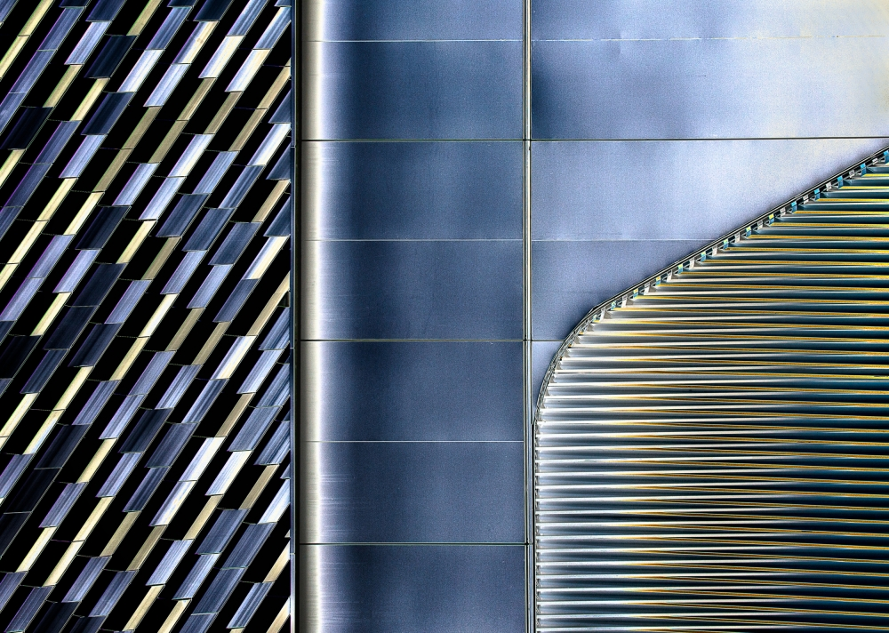 A piece of fine art art photography titled Lines, Shapes and Color by Harry Verschelden