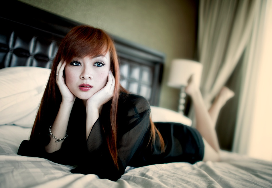A piece of fine art art photography titled Ma Belle by Suryo Tutuko