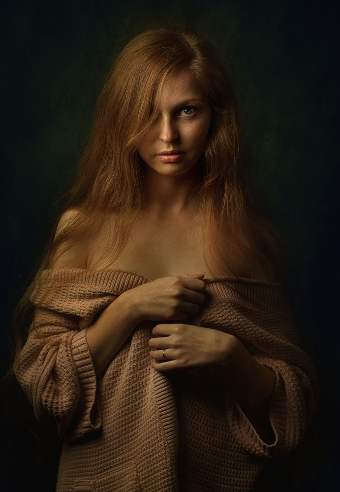 A piece of fine art art photography titled Olena by Zachar Rise