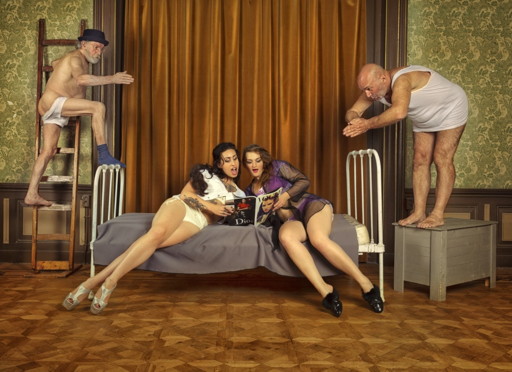 A piece of fine art art photography titled Mistress & Misunderstandings by Ian Munro