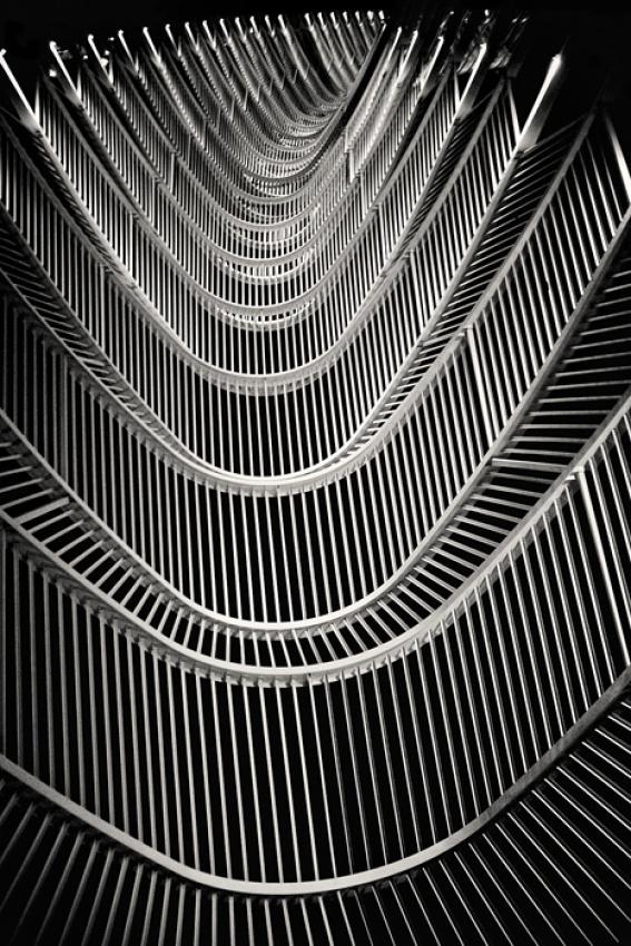 A piece of fine art art photography titled Parabola by Dmitry Plotnikov