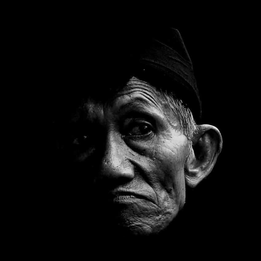 A piece of fine art art photography titled A Portrait of Javanese by Didik Kwok