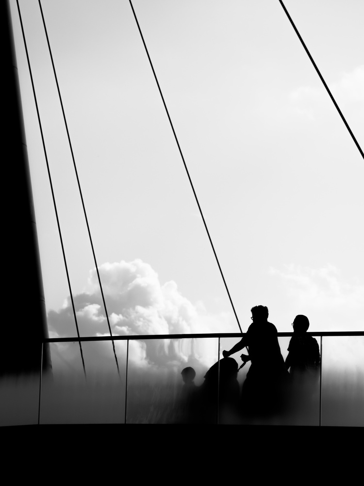 View this piece of fine art photography titled mama let's ride the clouds by Marius Surleac