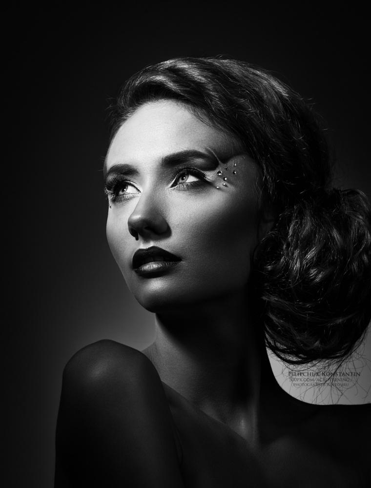 A piece of fine art art photography titled ***b/w by Konstantin Pilipchuk