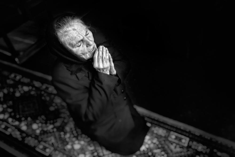 A piece of fine art art photography titled Faith by Jose Beut