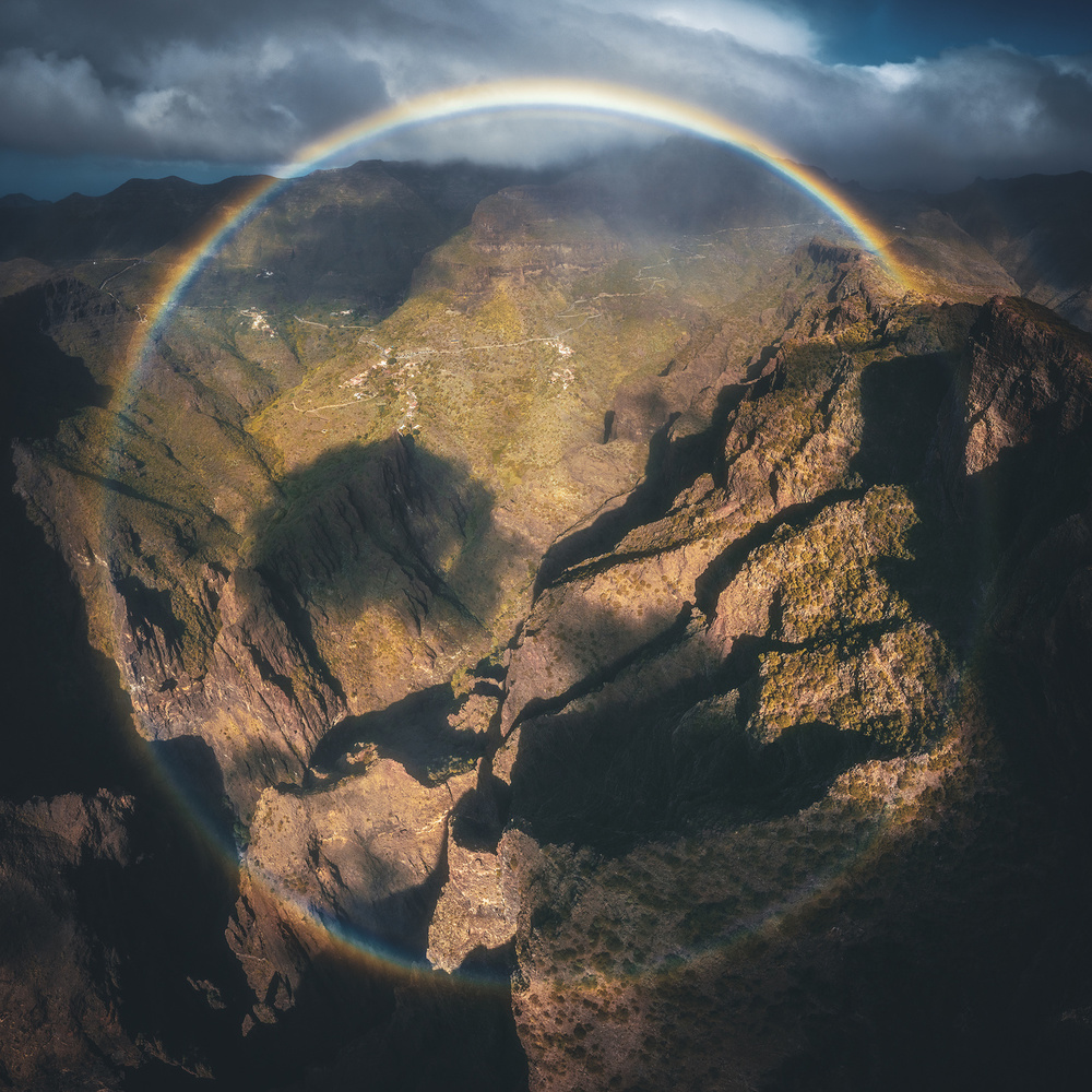 Tenerife - Masca beneath the Rainbow