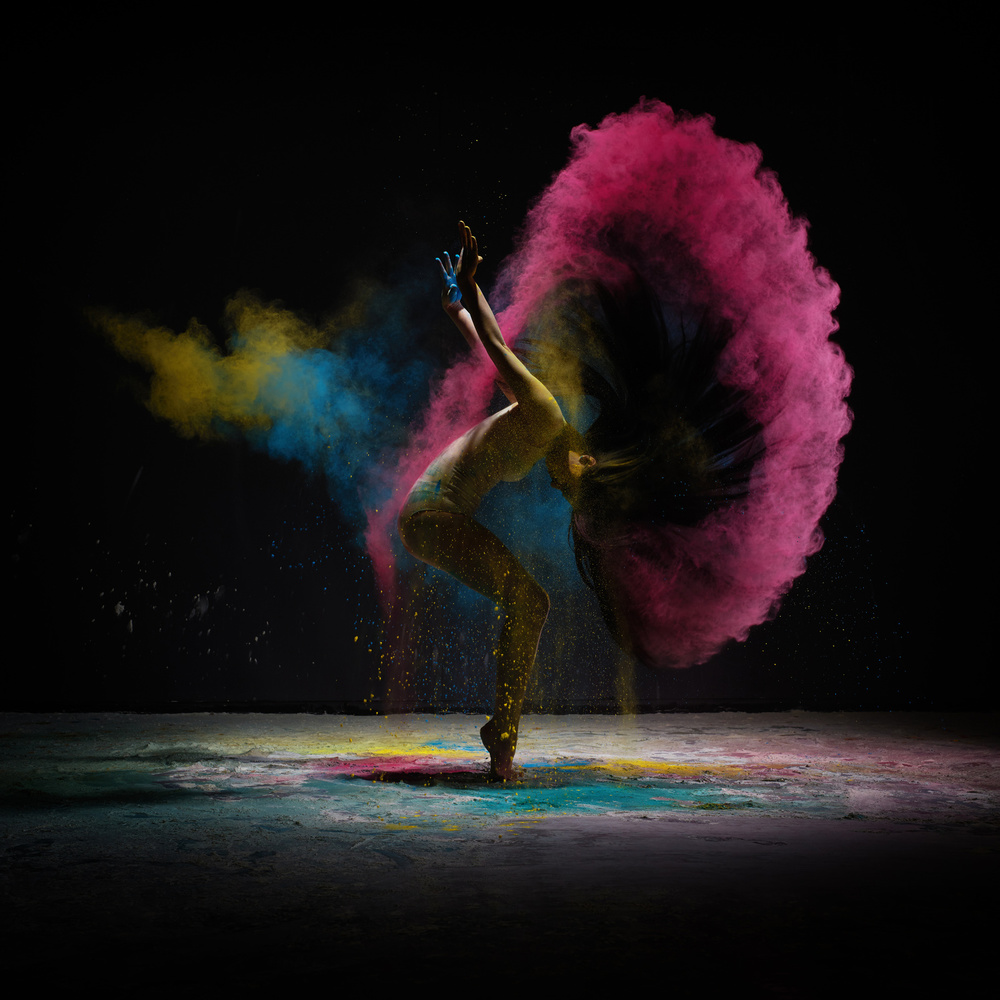 View this piece of fine art photography titled The Dance of Dust by Amnon Eichelberg