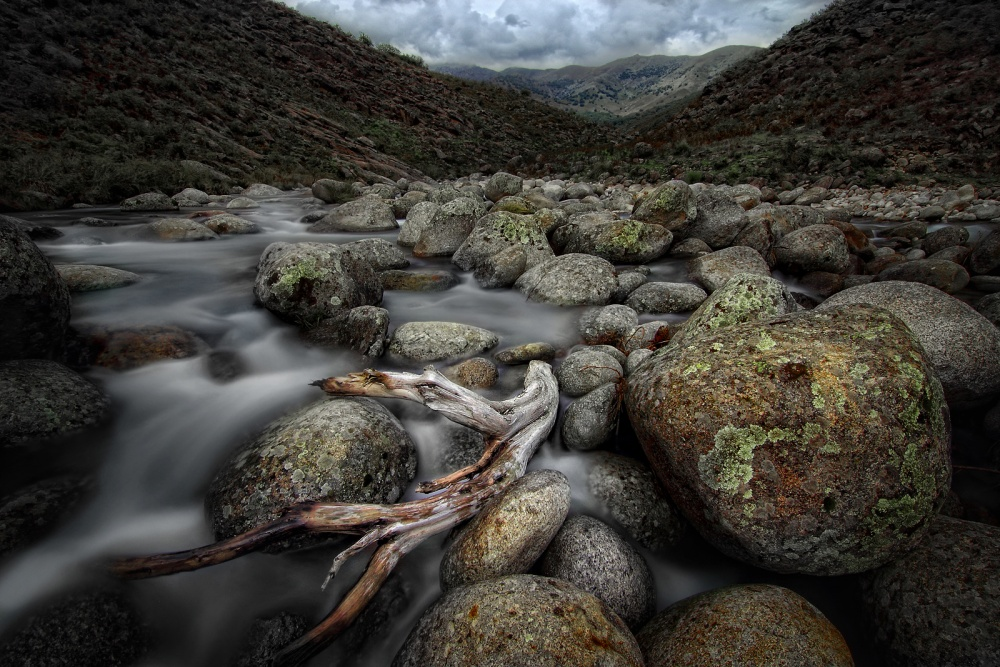 A piece of fine art art photography titled Sierra De Gredos by Amador Funes