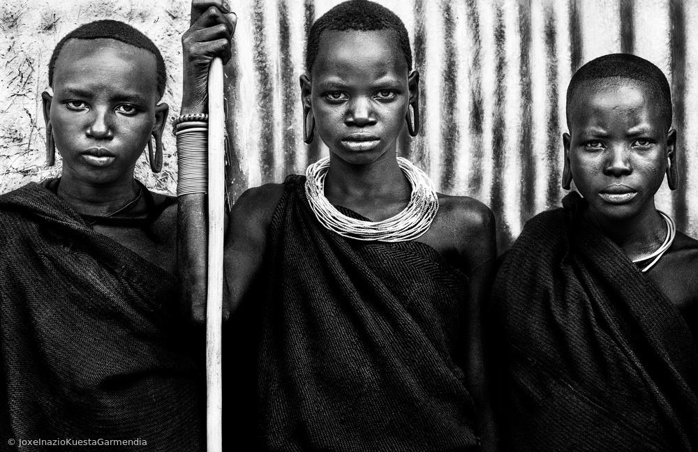Suri tribe women - Ethiopia