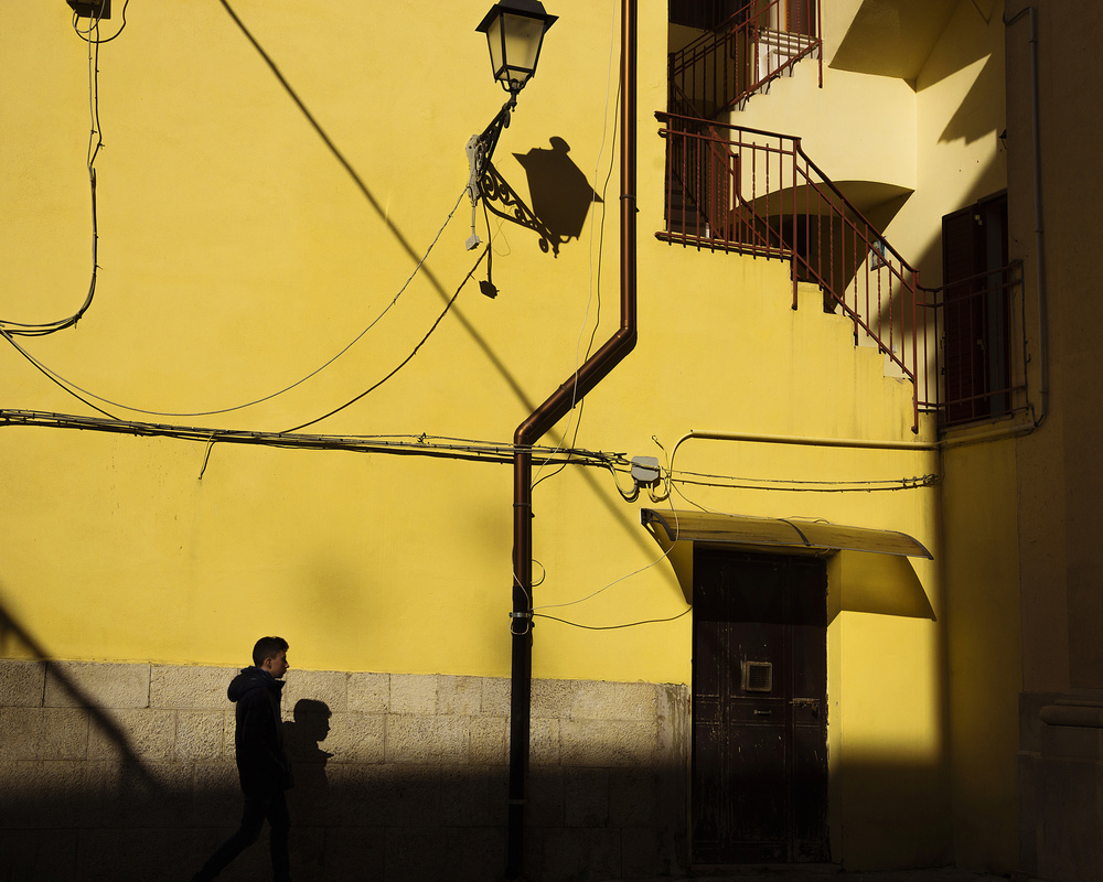 View this piece of fine art photography titled In yellow by Gloria Salgado Gispert