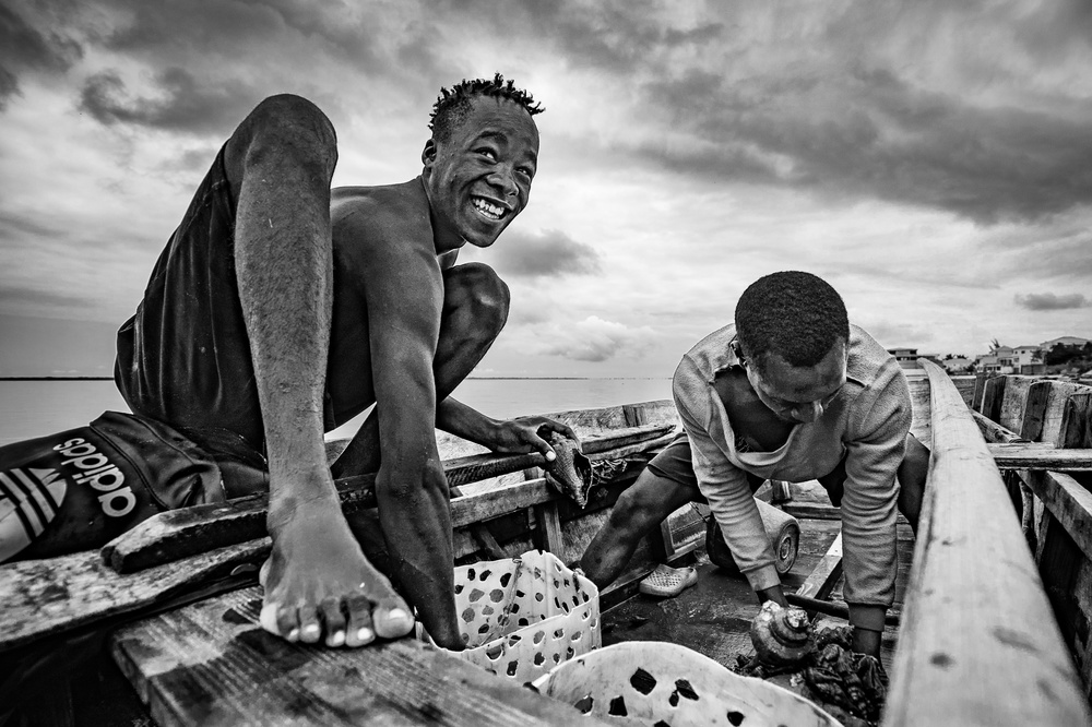 View this piece of fine art photography titled The conchs fisherman II by João Coelho