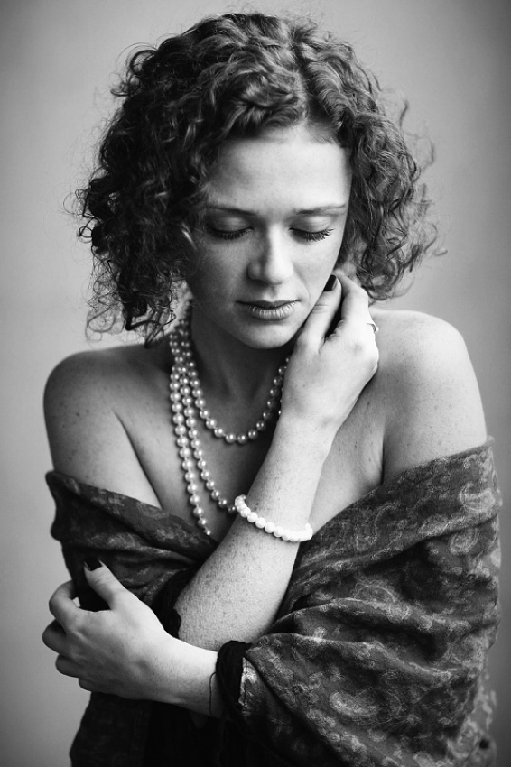 A piece of fine art art photography titled Adriana by SofiG - Tamara Cerna