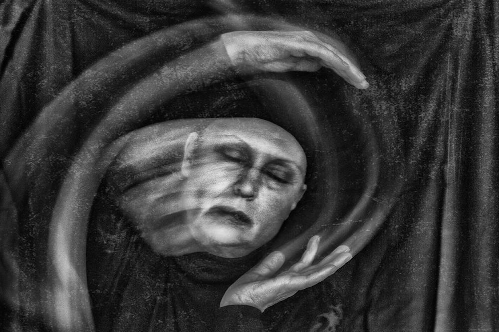 A piece of fine art art photography titled Nightmare by Angelika Martha Himburg
